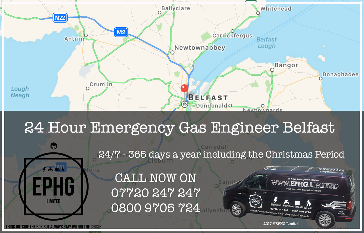 24 Hour Emergency Boiler Repair Belfast