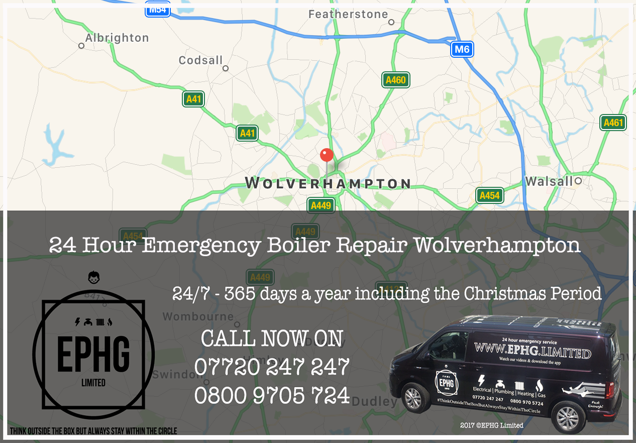 24 Hour Emergency Boiler Repair Wolverhampton