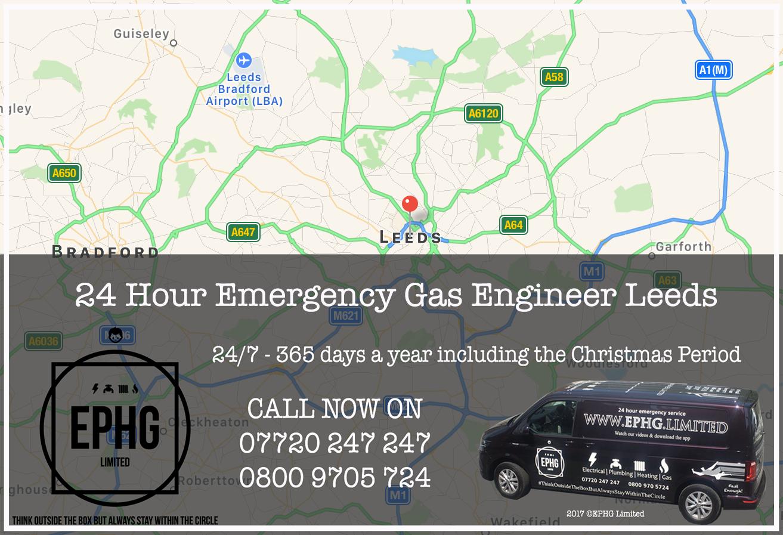 24 Hour Emergency Gas Engineer Leeds