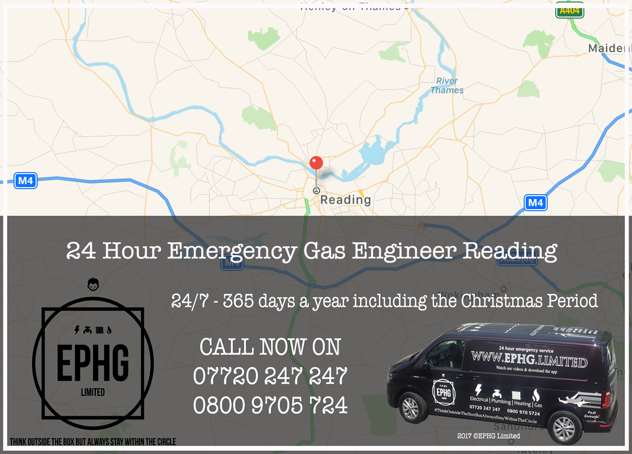 24 Hour Emergency Gas Engineer Reading