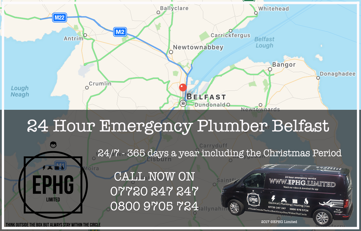 24 Hour Emergency Plumber Belfast