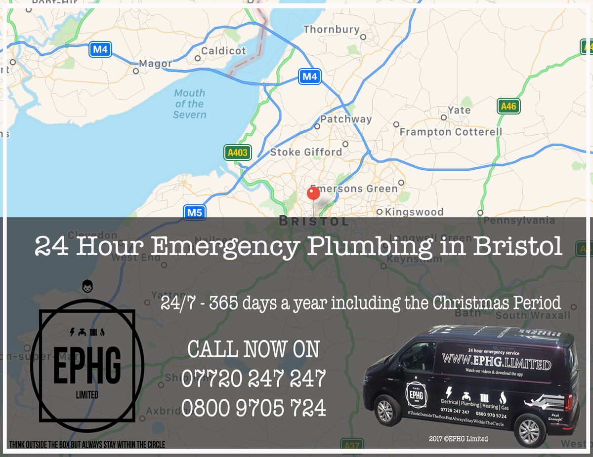 24 Hour Emergency Plumber Bristol