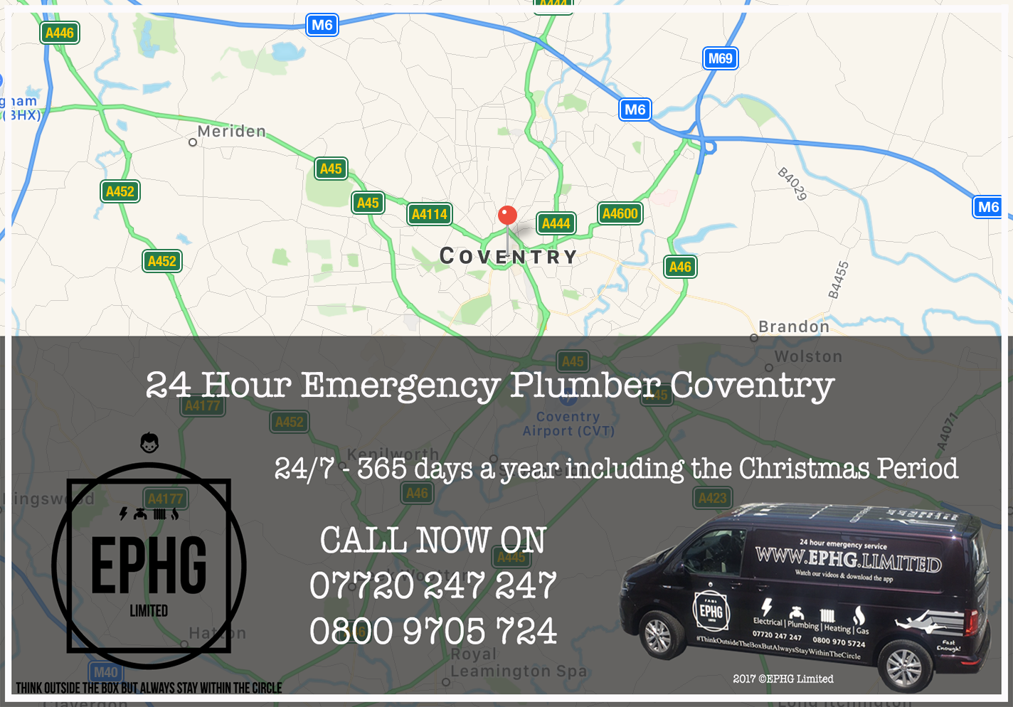 24 Hour Emergency Plumber Coventry