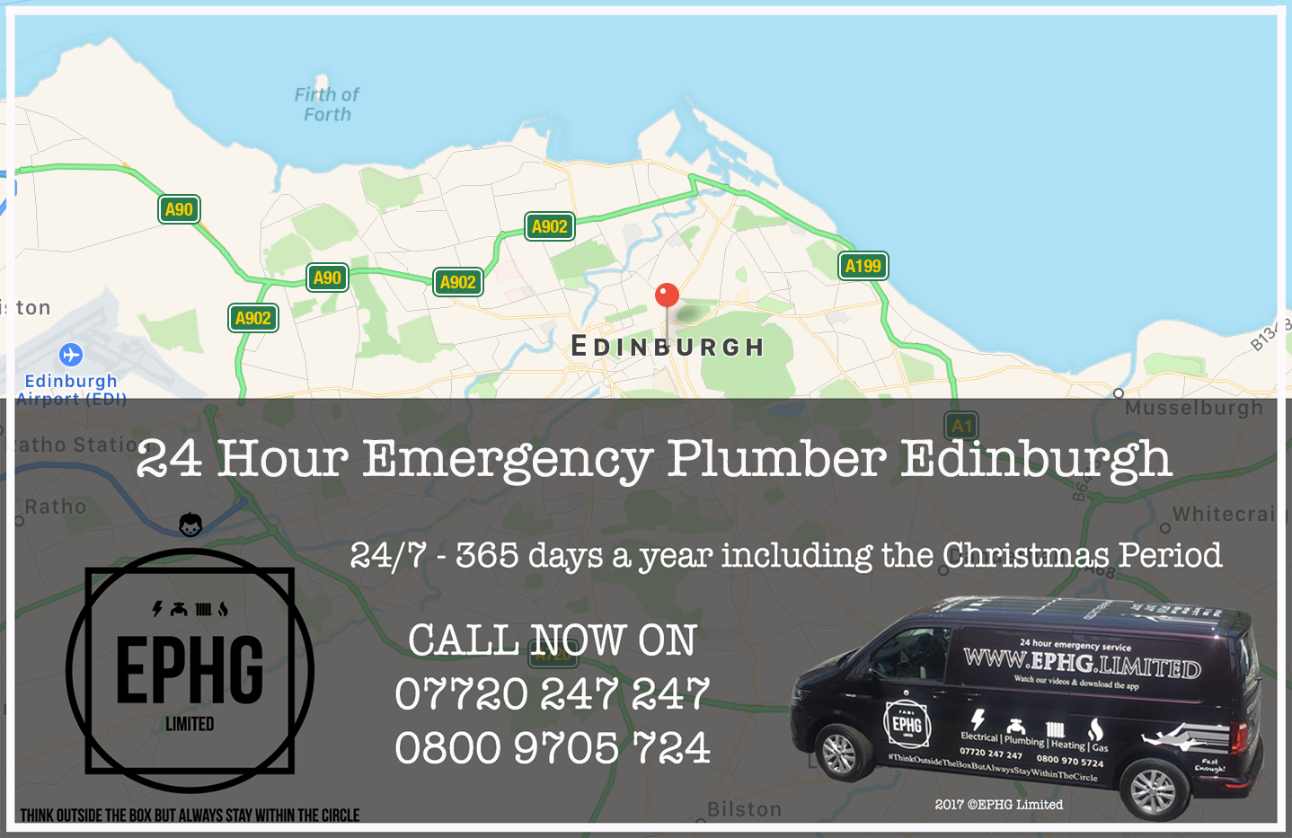 24 Hour Emergency Plumber Edinburgh