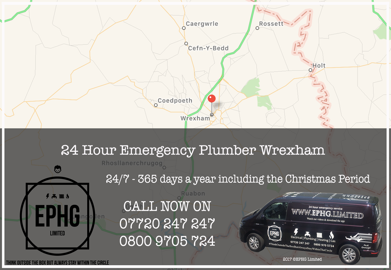 24 Hour Emergency Plumber Wrexham