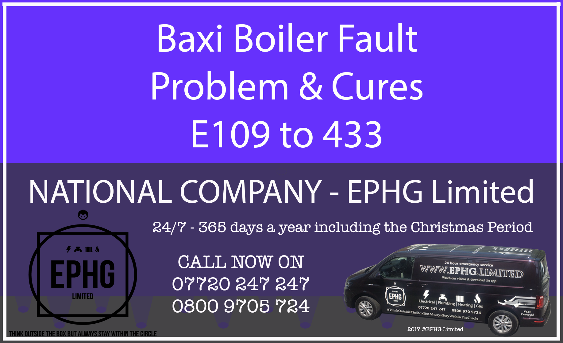 Baxi Boiler Fault Problem And Cures