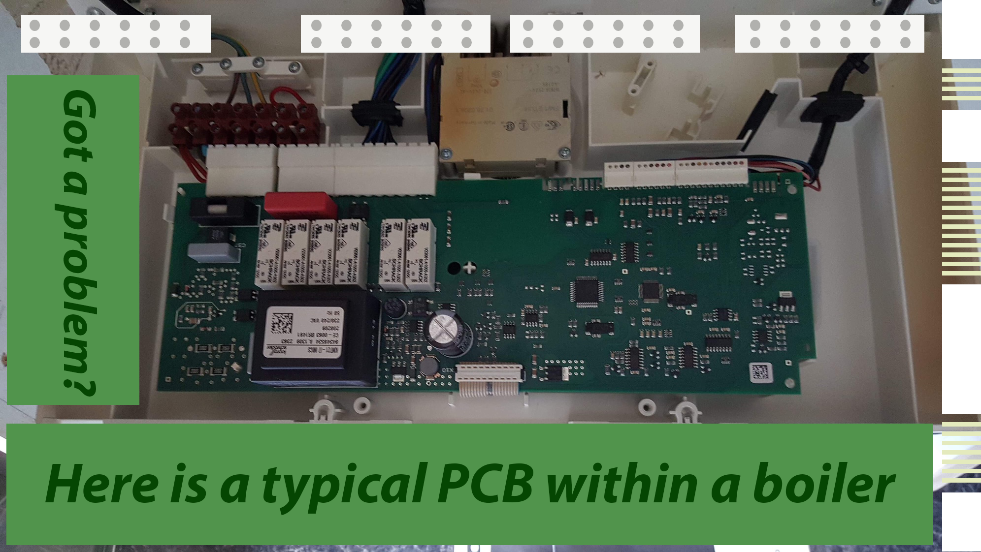 Boiler PCB Problems And Faults
