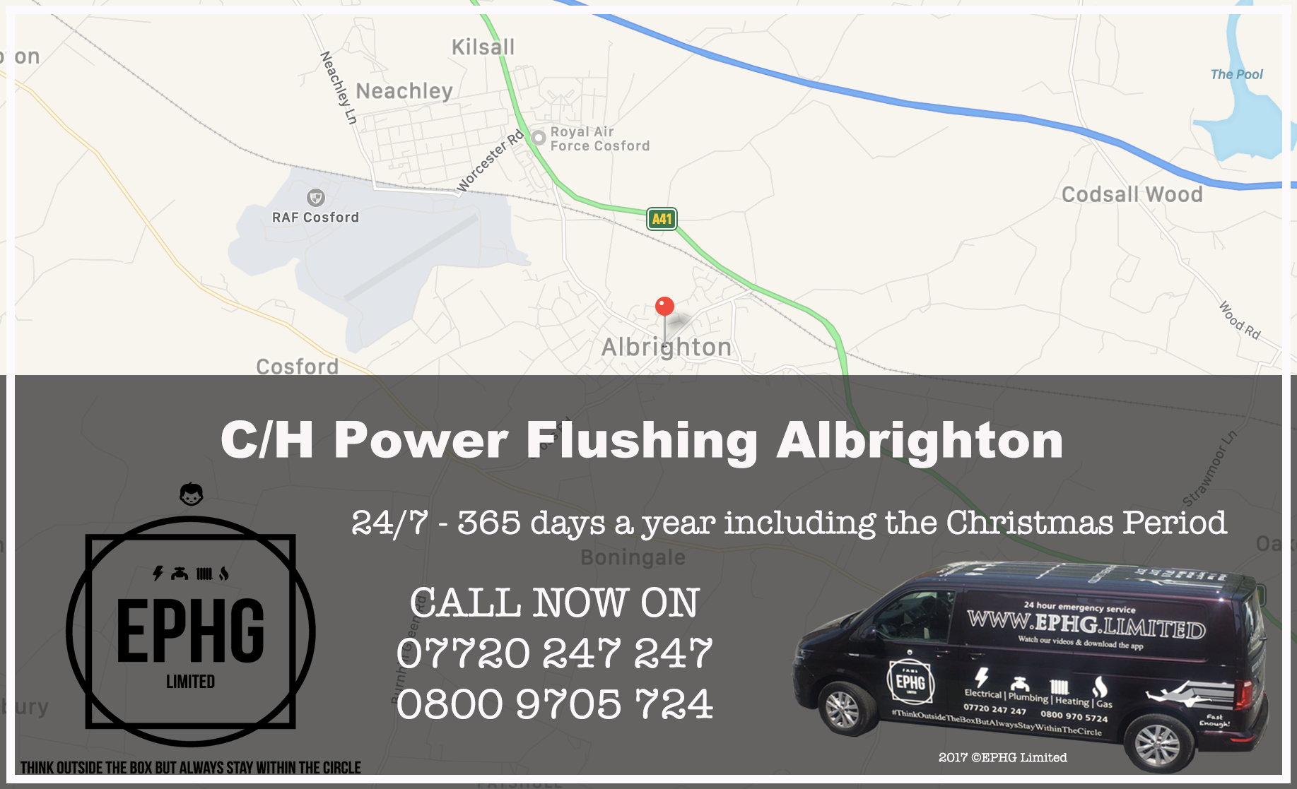 Central Heating Power Flush Albrighton