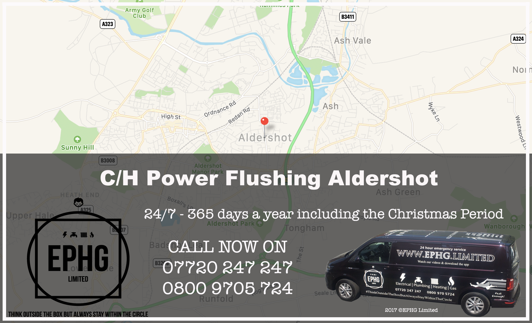 Central Heating Power Flush Aldershot