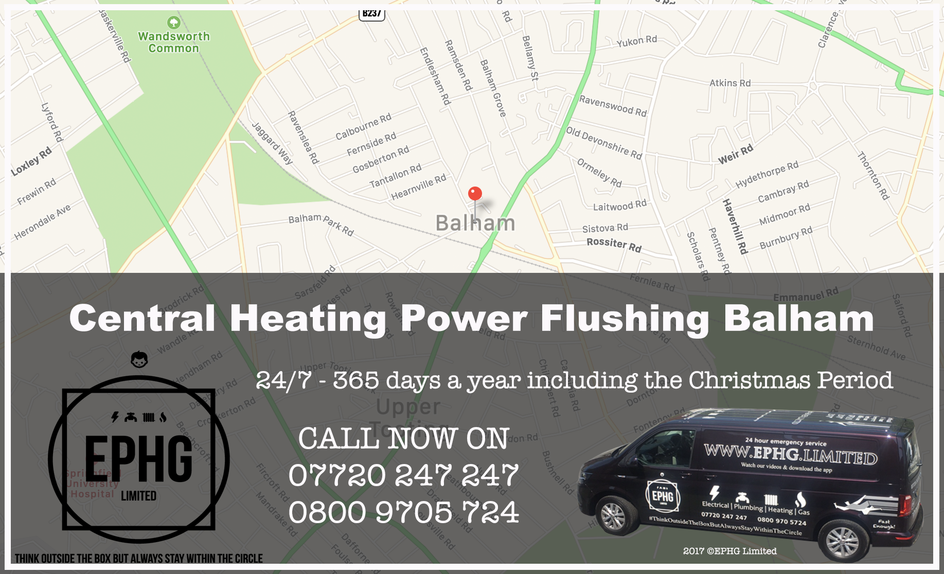 Central Heating Power Flush Balham