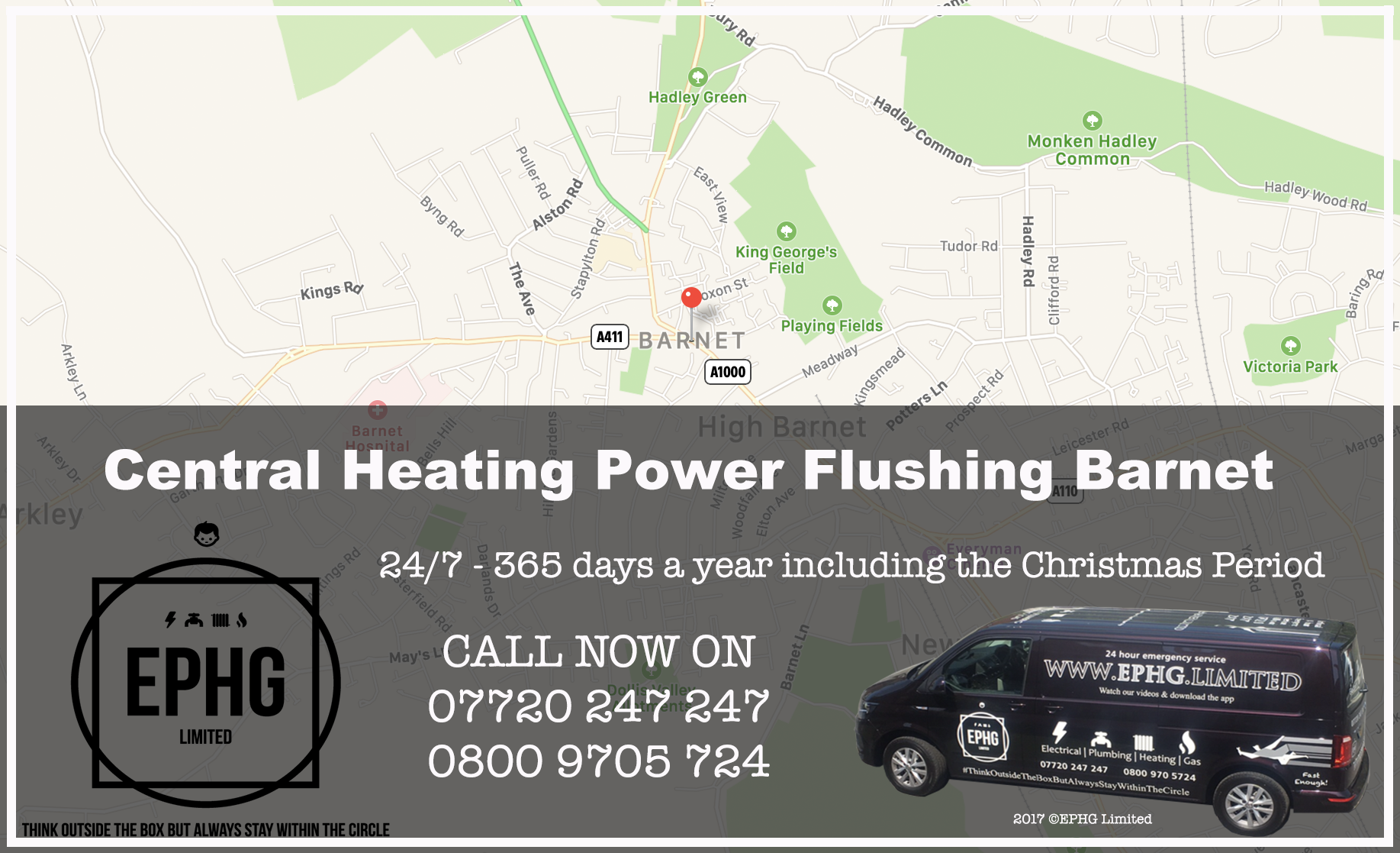 Central Heating Power Flush Barnet