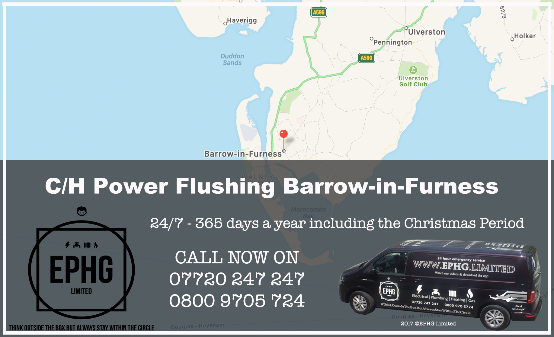 Central Heating Power Flush Barrow-in-Furness