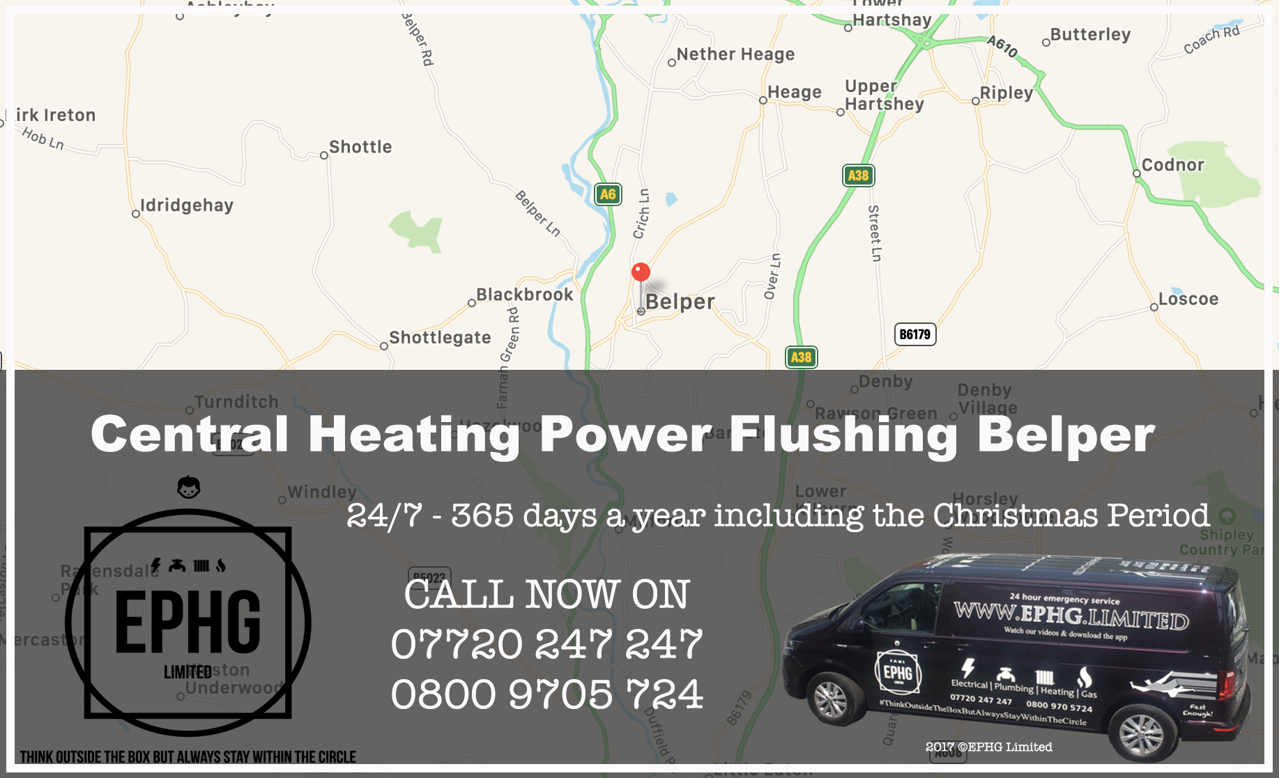 Central Heating Power Flush Belper