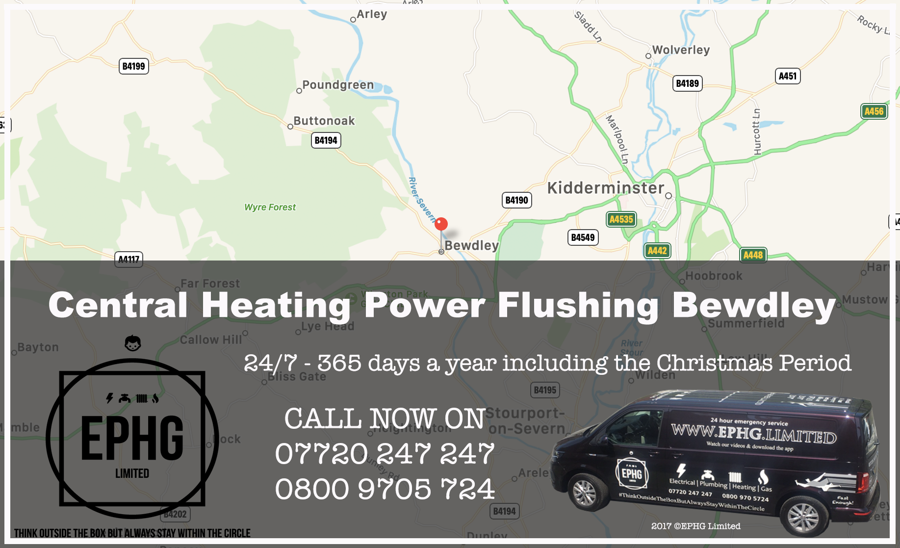 Central Heating Power Flush Bewdley