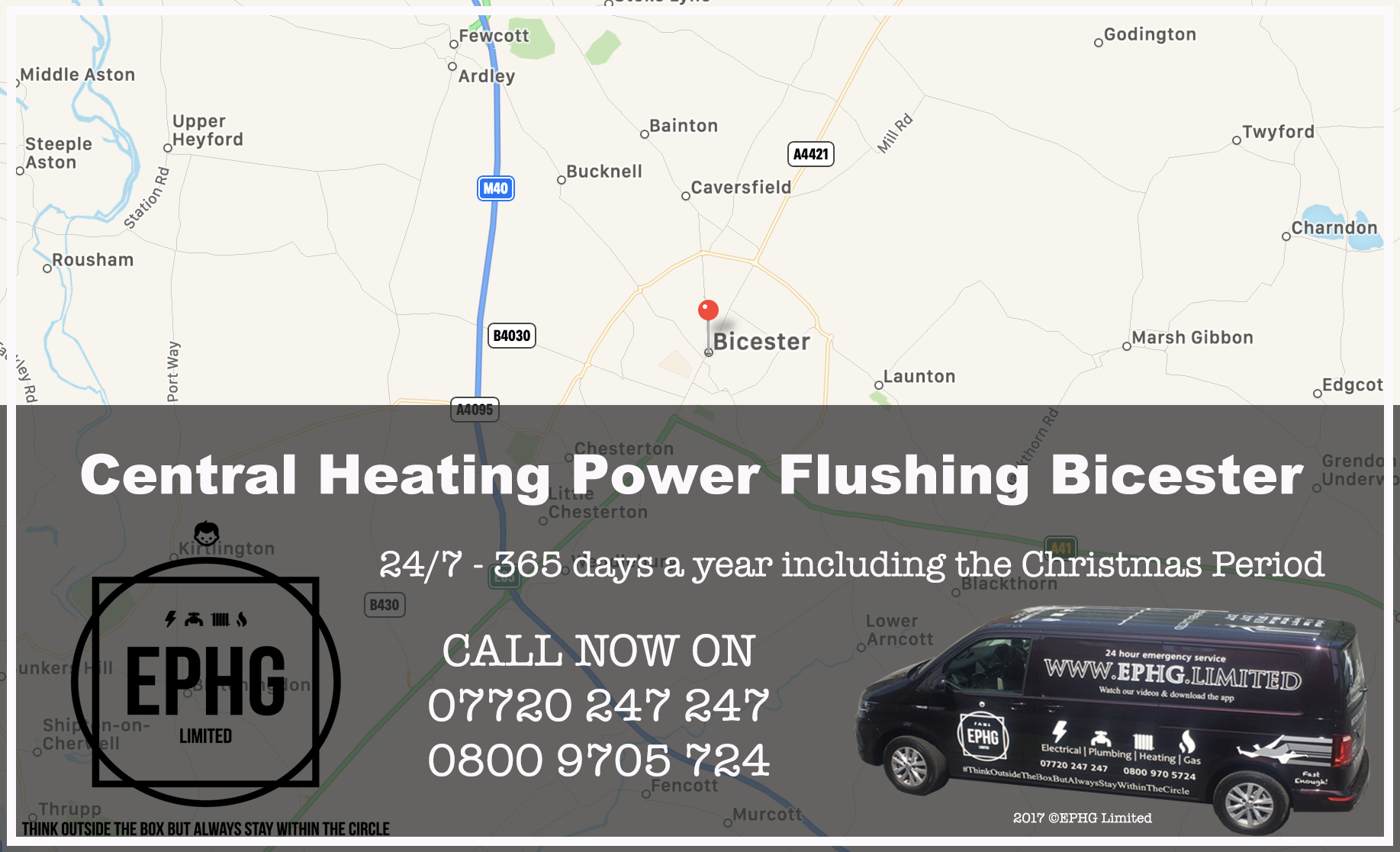 Central Heating Power Flush Bicester