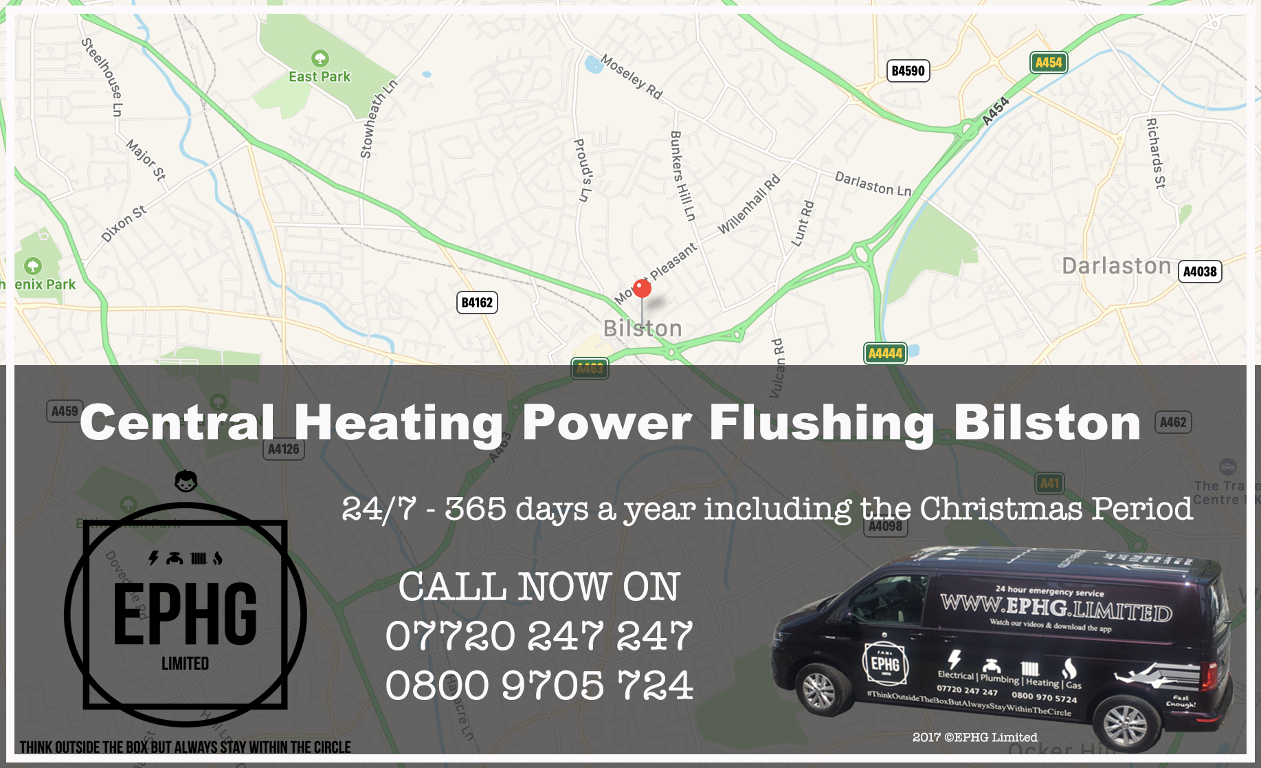 Central Heating Power Flush Bilston