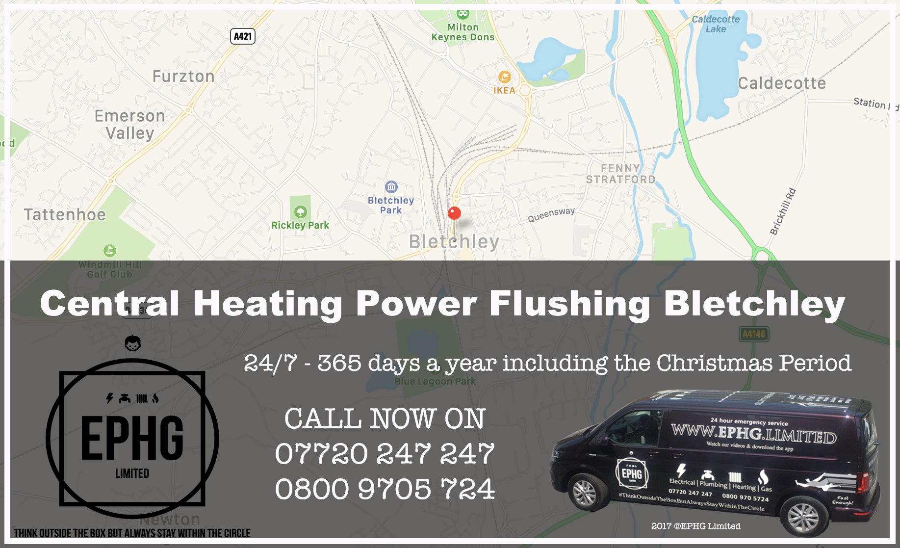Central Heating Power Flush Bletchley