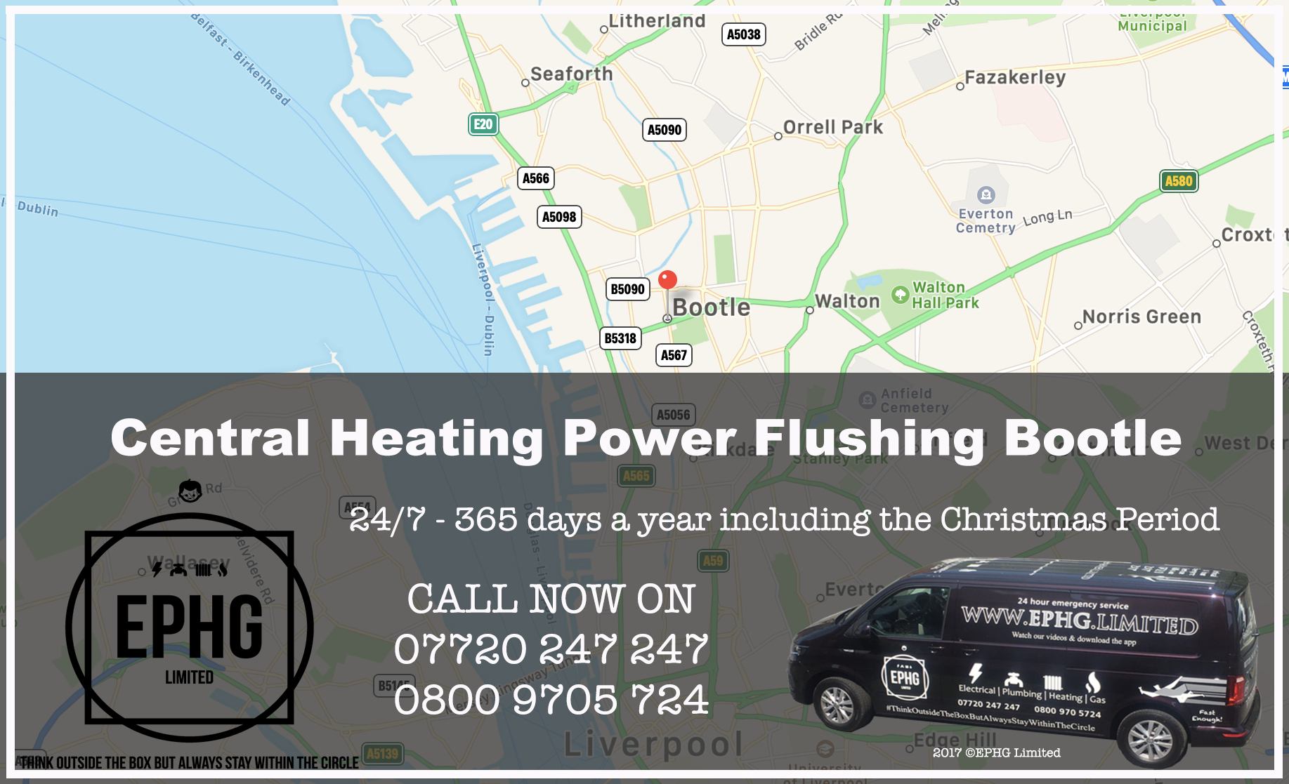 Central Heating Power Flush Bootle