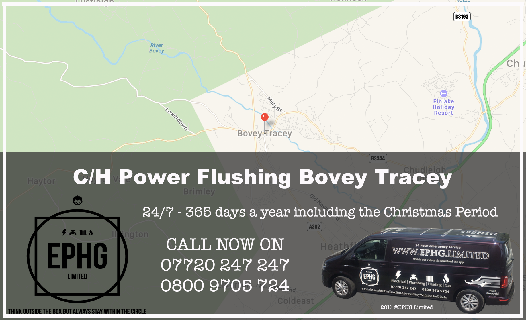 Central Heating Power Flush Bovey Tracey