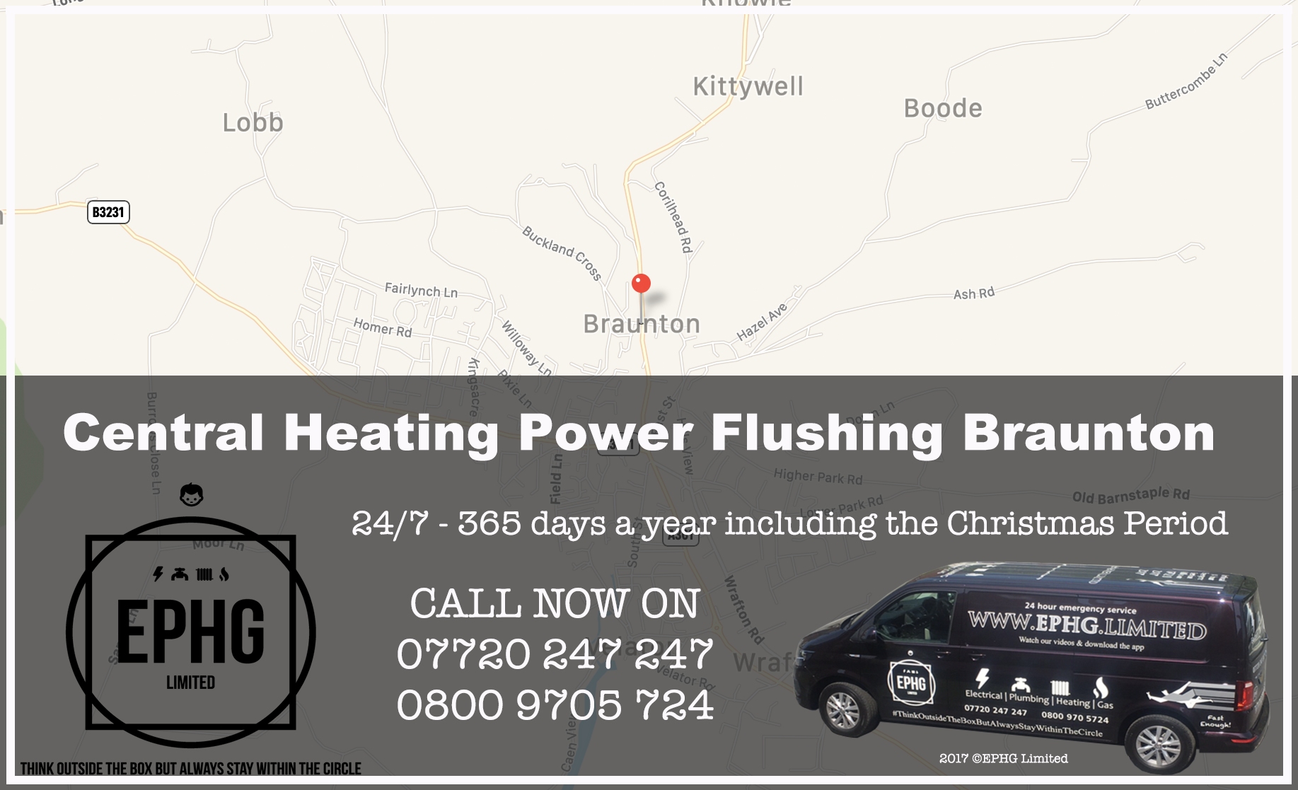 Central Heating Power Flush Braunton