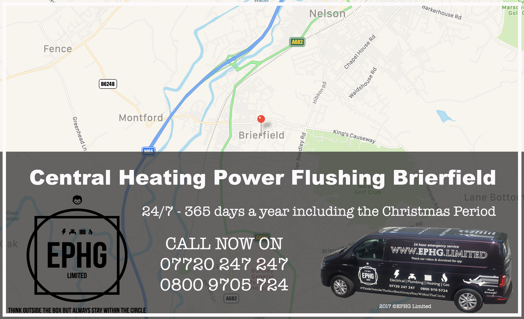 Central Heating Power Flush Brierfield