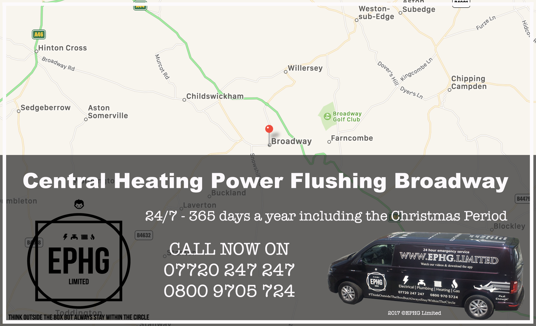 Central Heating Power Flush Broadway