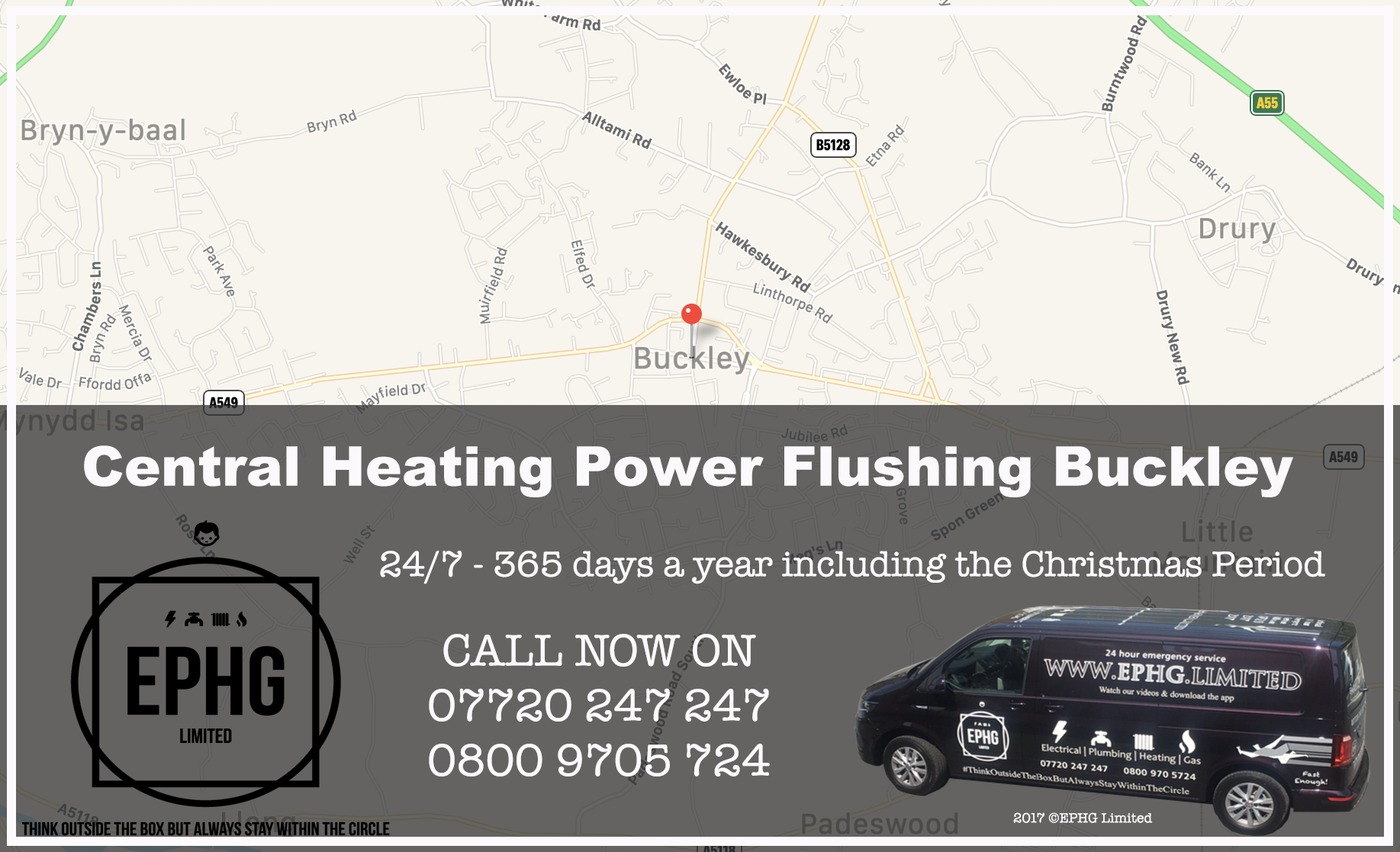 Central Heating Power Flush Buckley