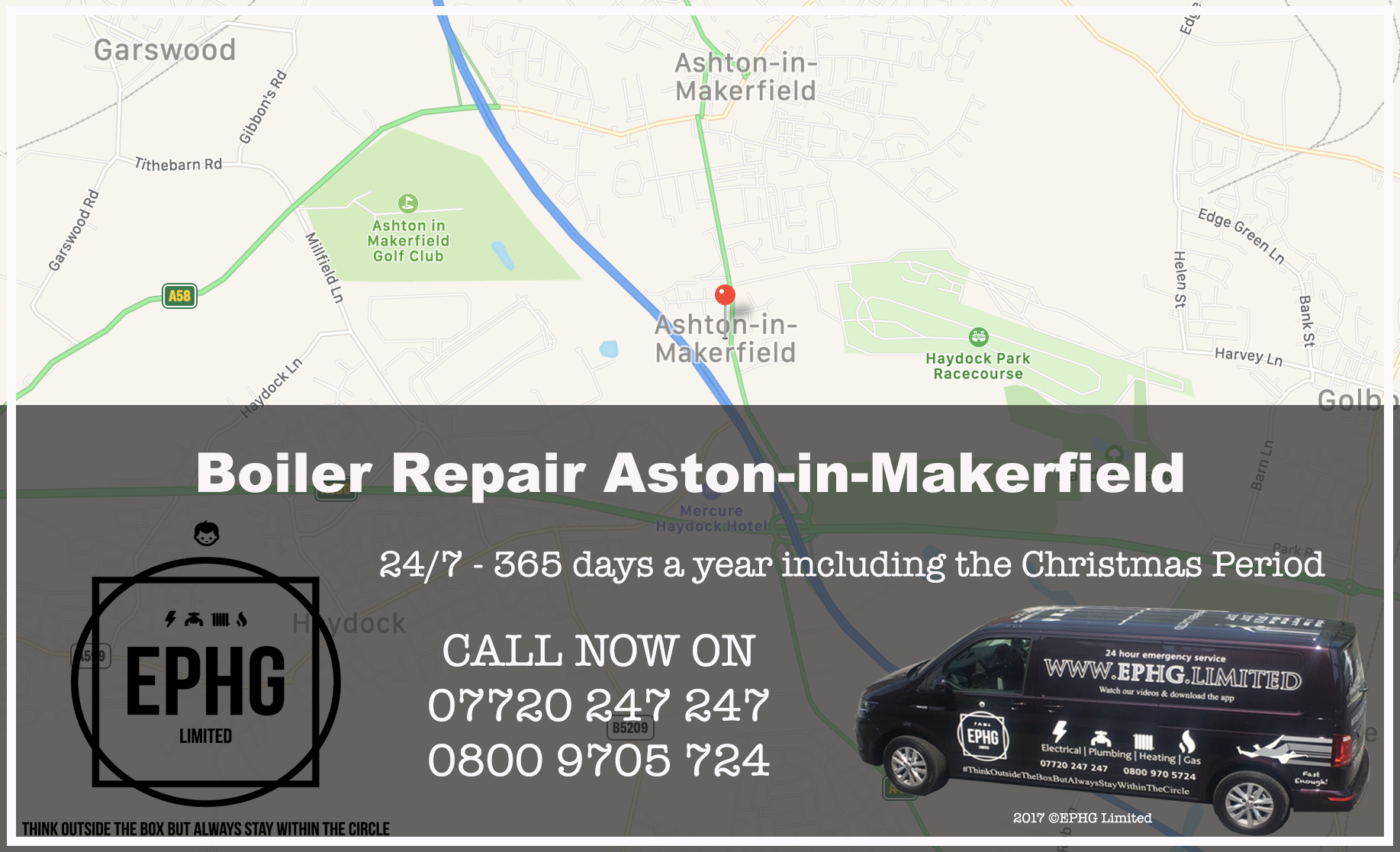24 Hour Emergency Boiler Repair Ashton-in-Makerfield
