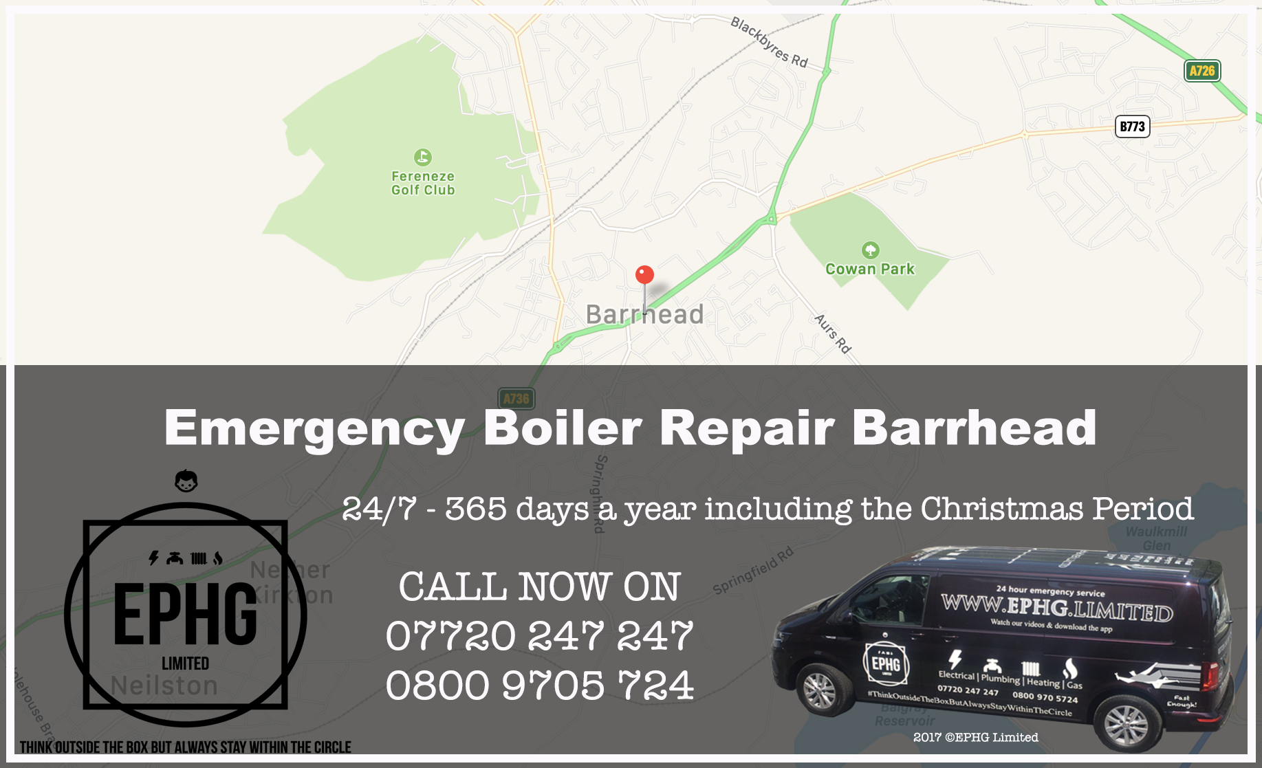 24 Hour Emergency Boiler Repair Barrhead