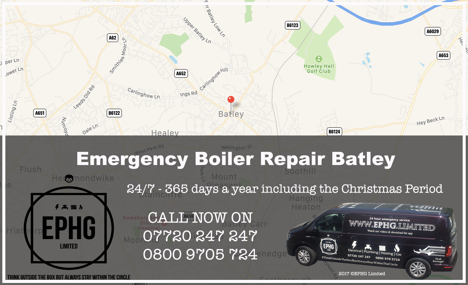24 Hour Emergency Boiler Repair Batley