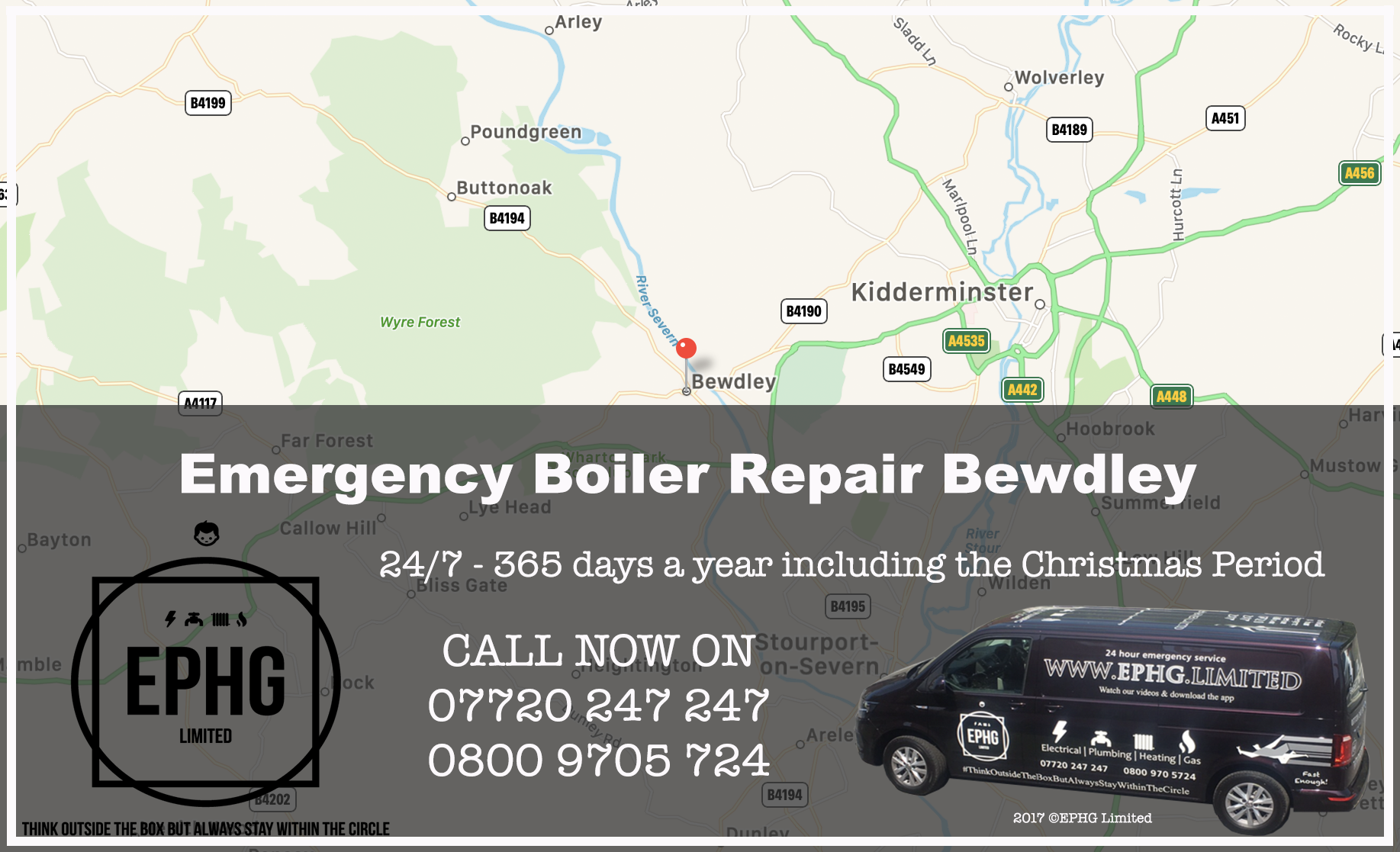 24 Hour Emergency Boiler Repair Bewdley