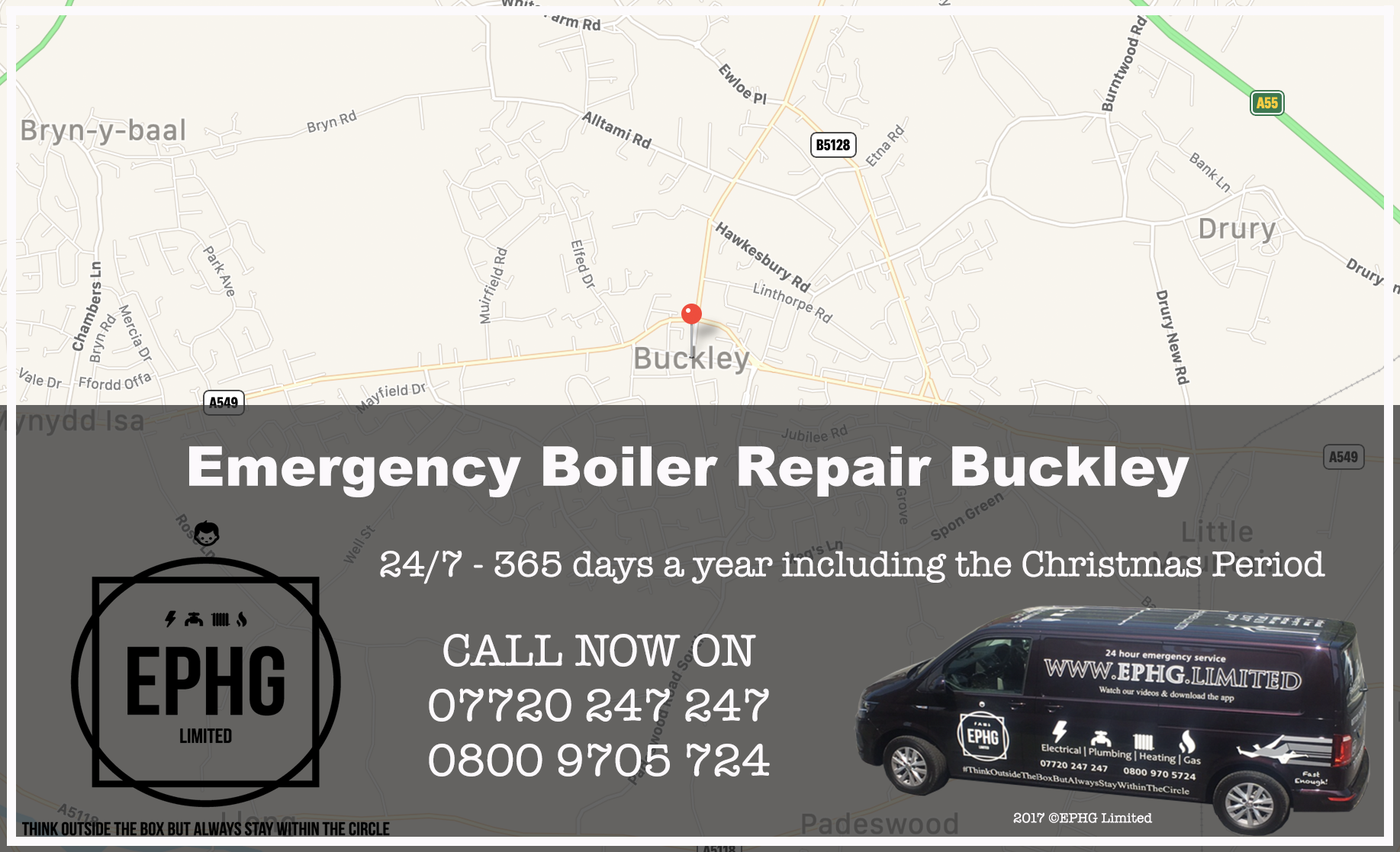 24 Hour Emergency Boiler Repair Buckley