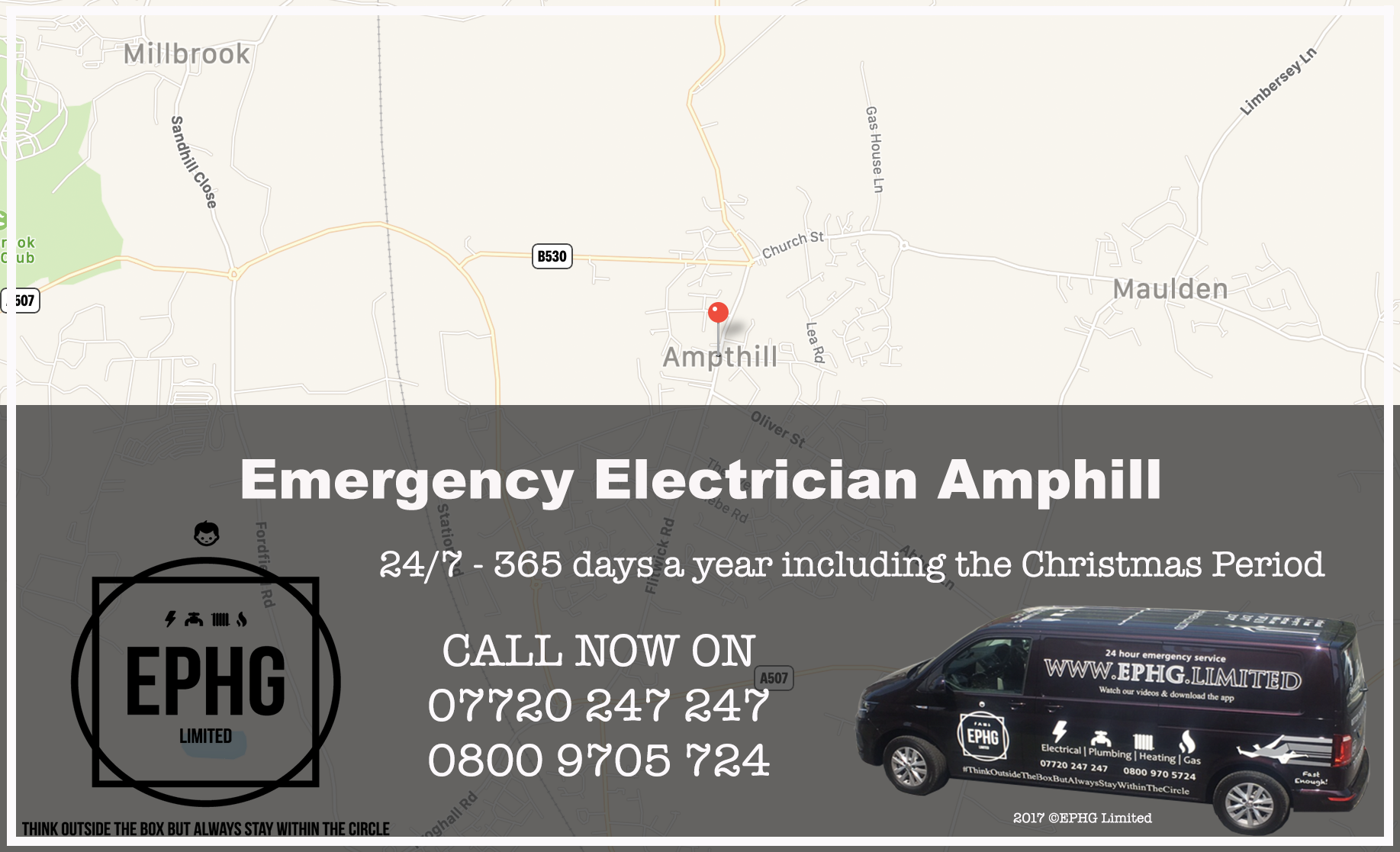 Emergency Electrician Ampthill