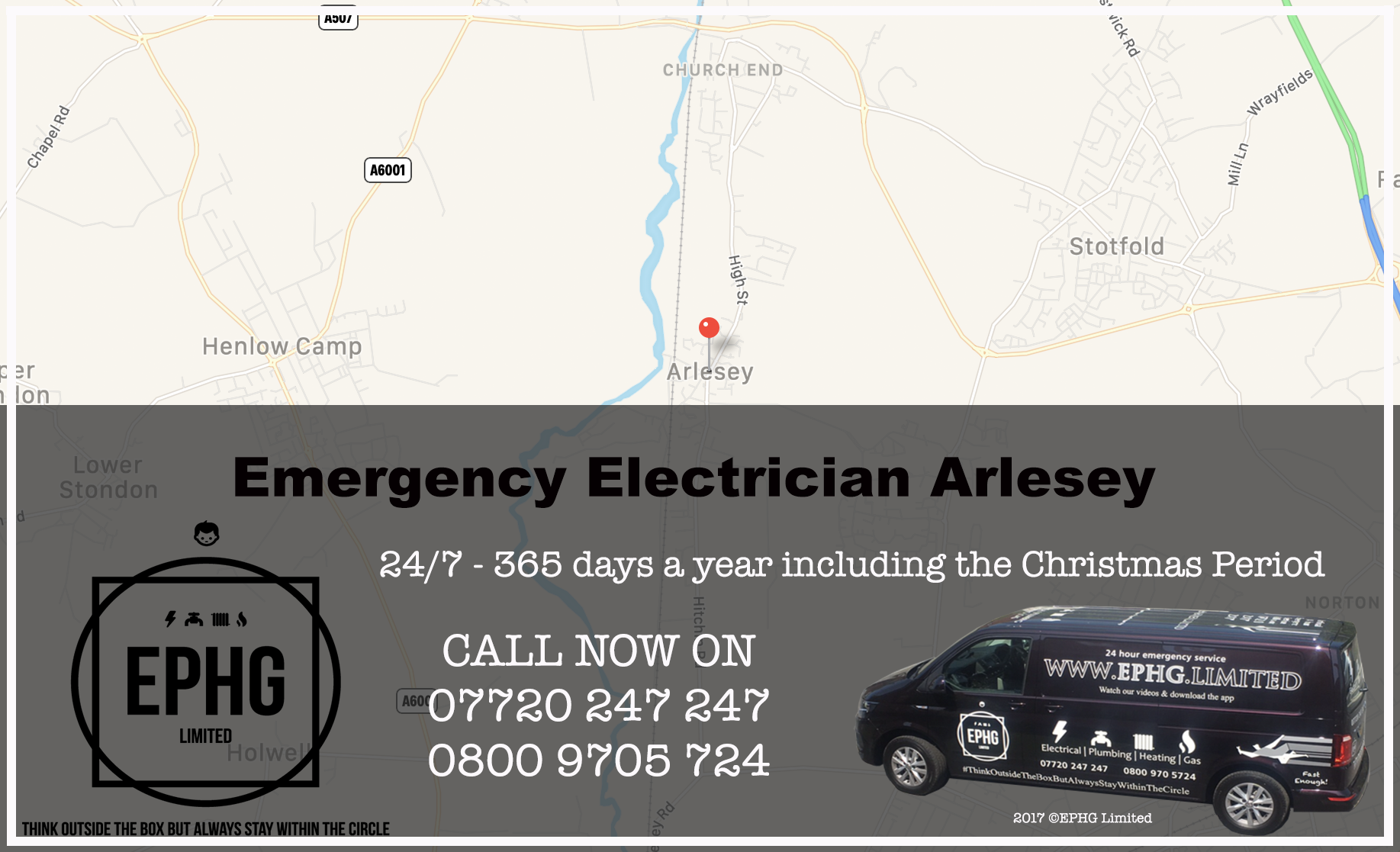 Emergency Electrician Arlesey