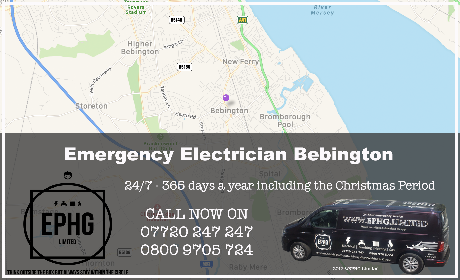 Emergency Electrician Bebington