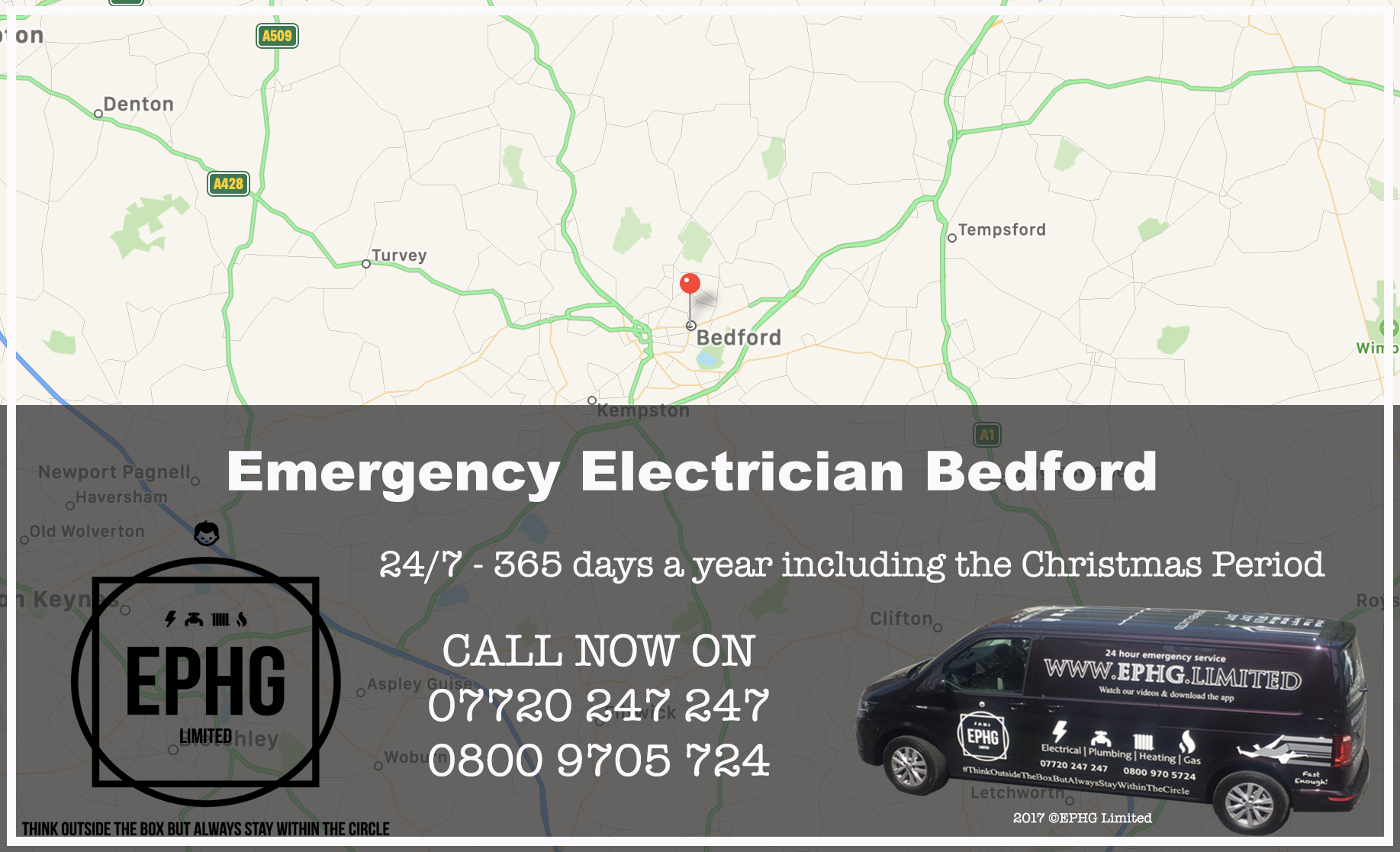 Emergency Electrician Bedford