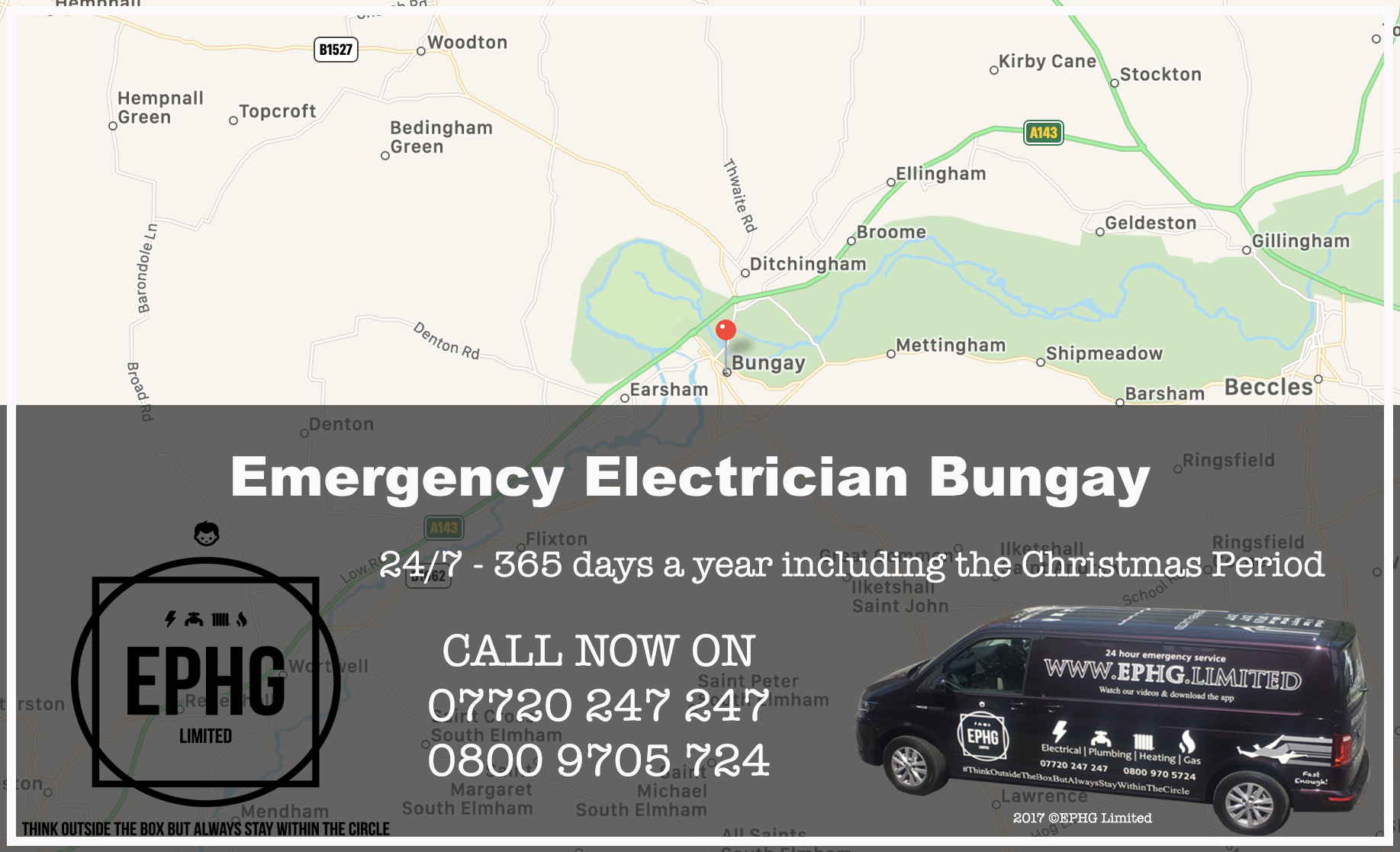 Emergency Electrician Bungay