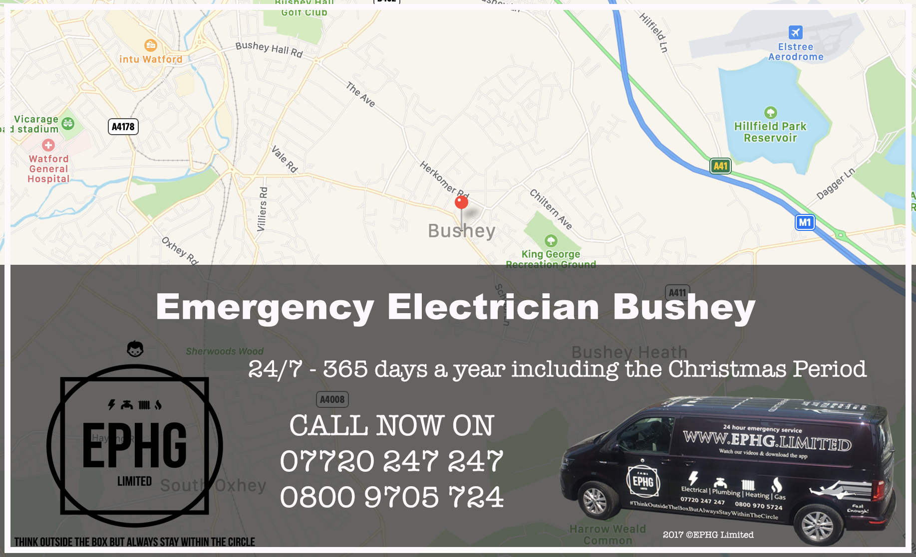Emergency Electrician Bushey