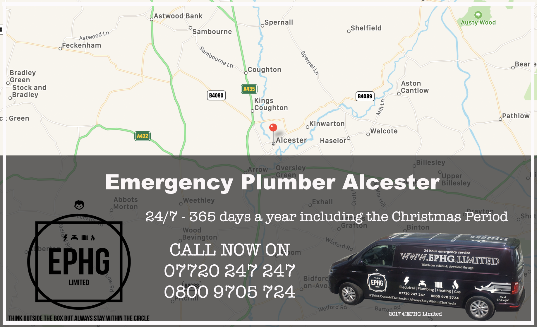 24 Hour Emergency Plumber Alcester