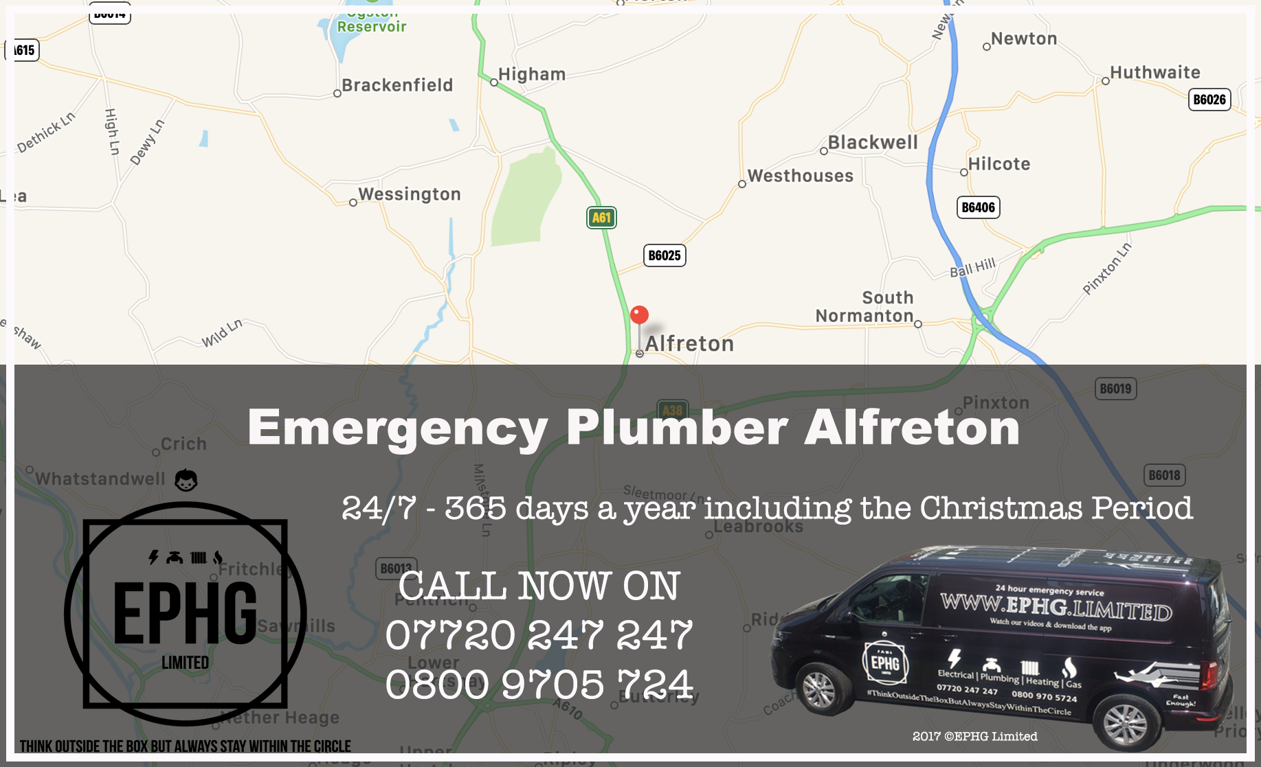 24 Hour Emergency Plumber Alfreton