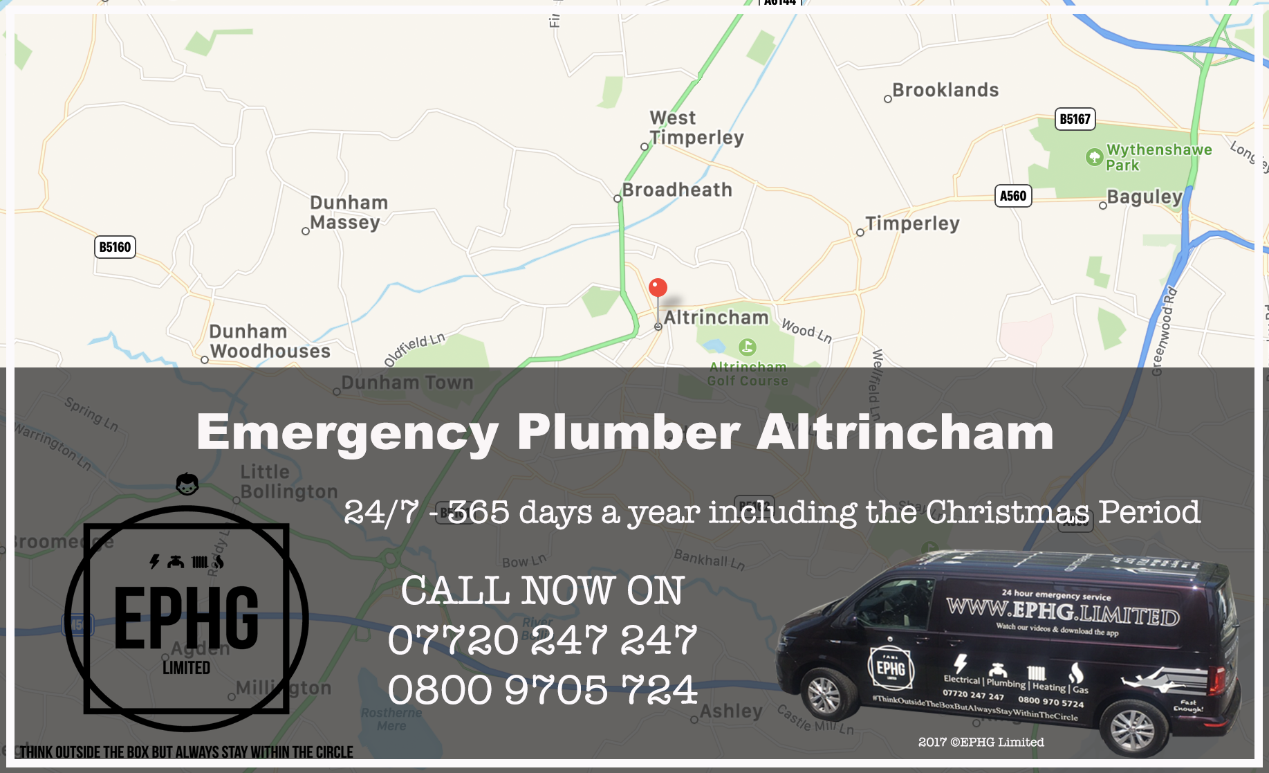 24 Hour Emergency Plumber Altrincham