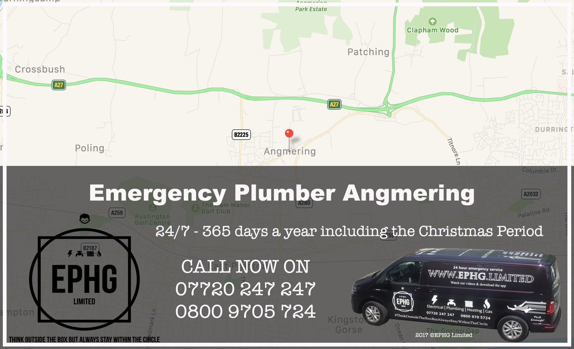 24 Hour Emergency Plumber Angmering