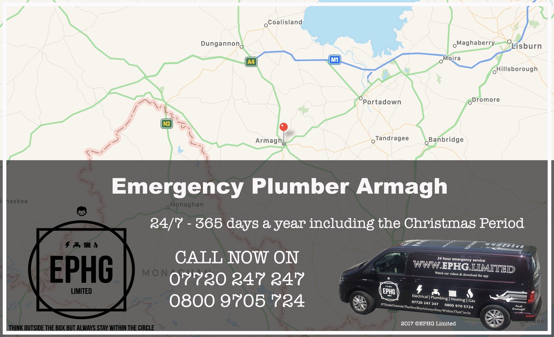 24 Hour Emergency Plumber Armagh