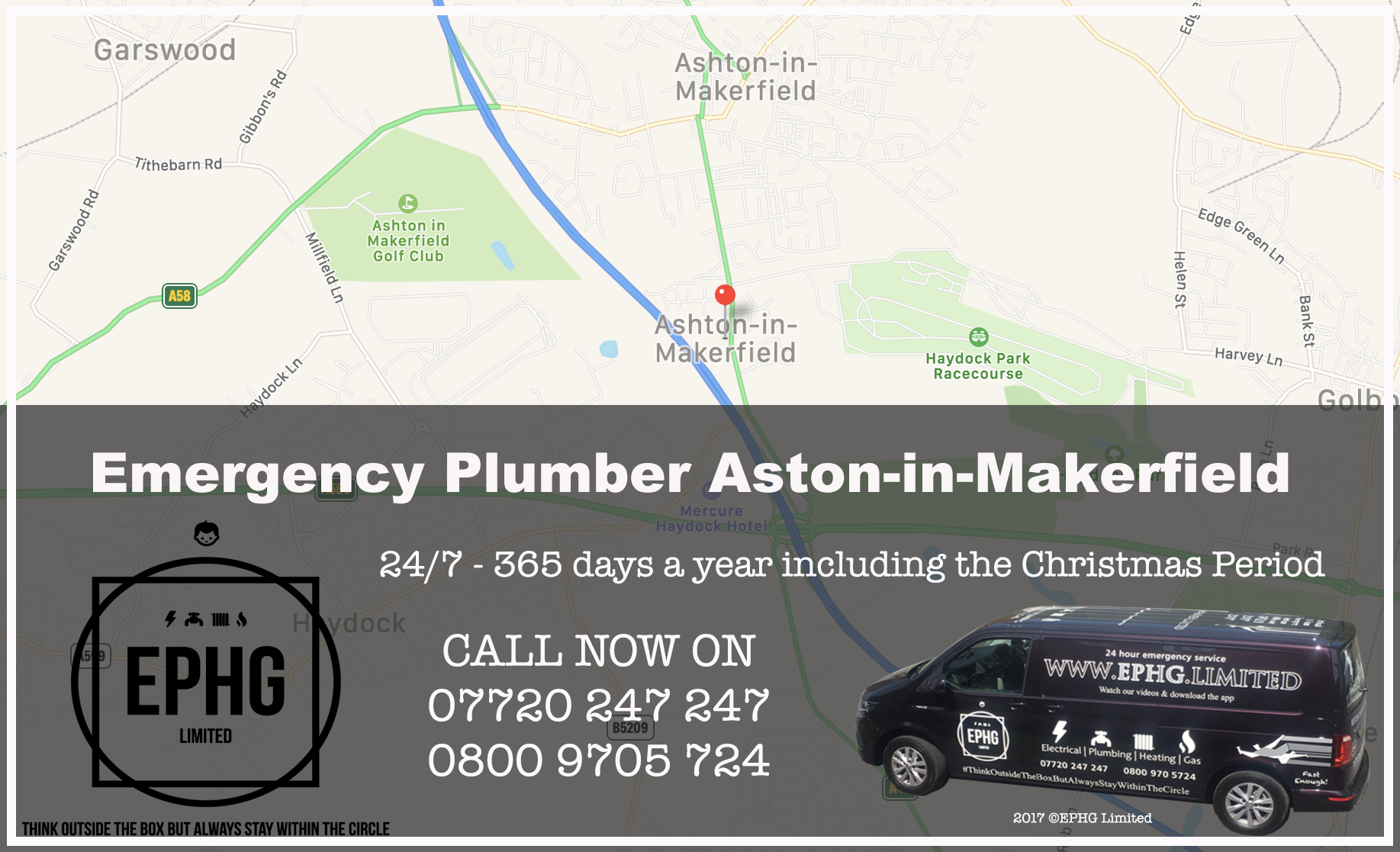 24 Hour Emergency Plumber Ashton-in-Makerfield