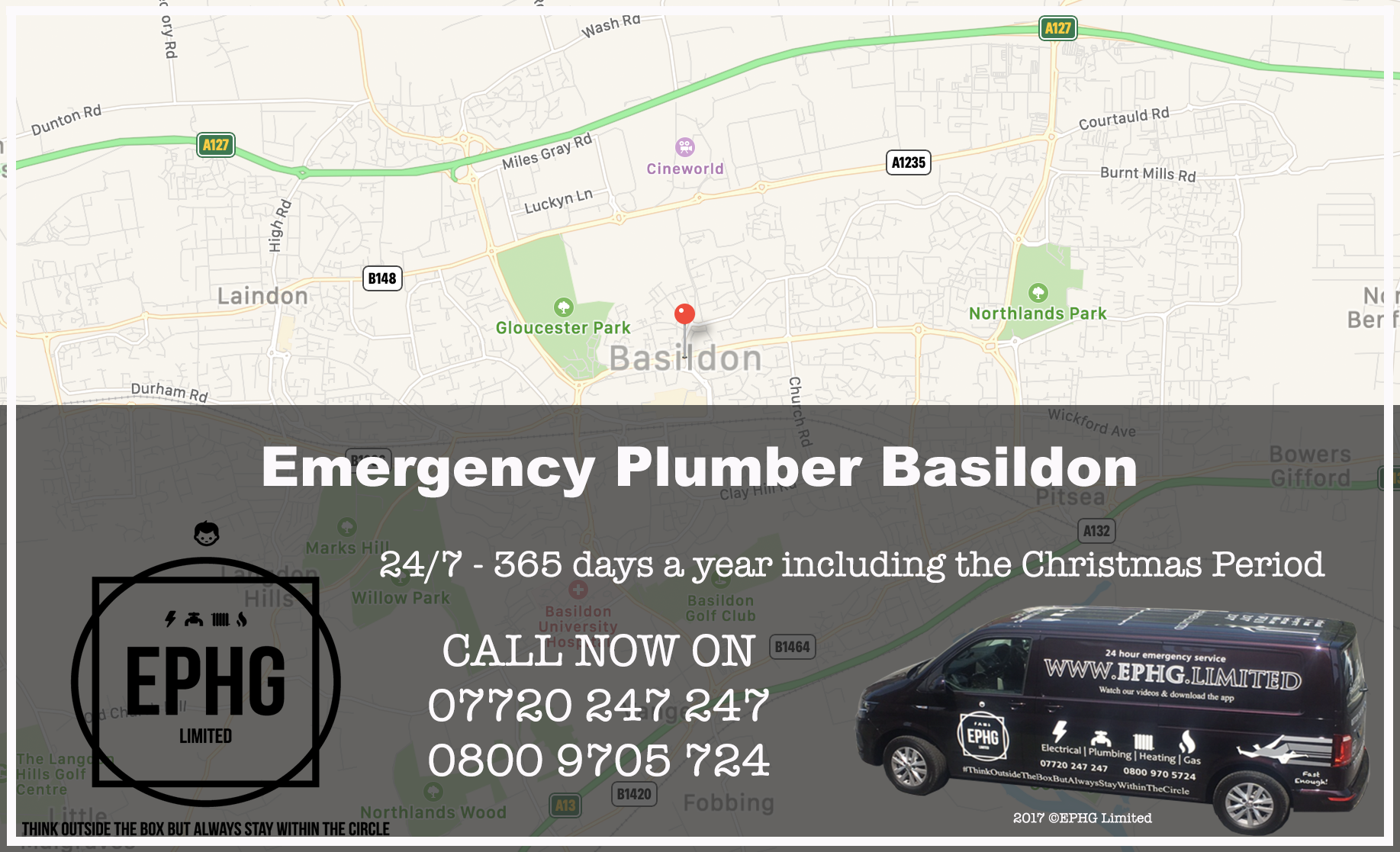 24 Hour Emergency Plumber Basildon