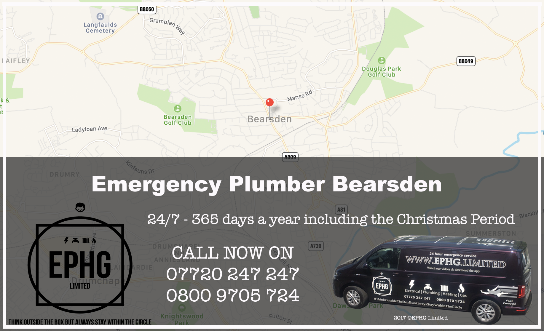 24 Hour Emergency Plumber Bearsden