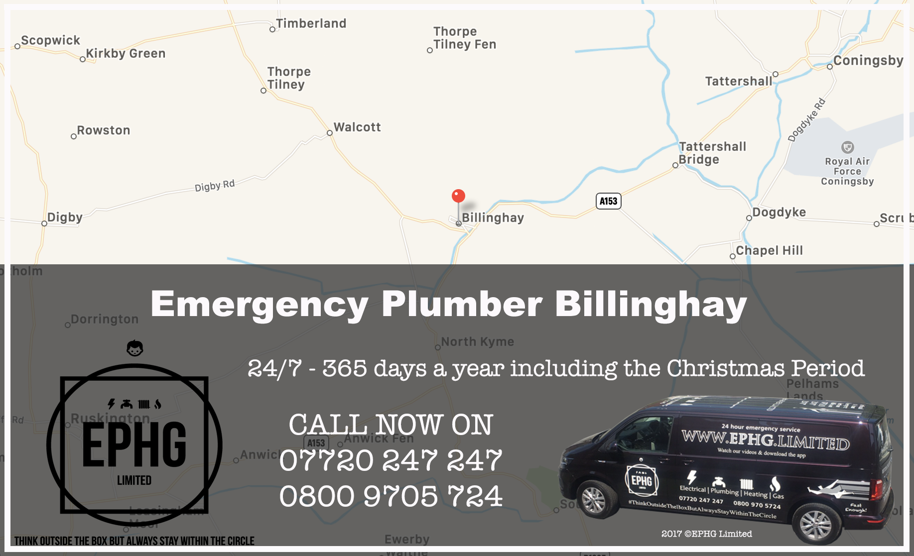 24 Hour Emergency Plumber Billinghay