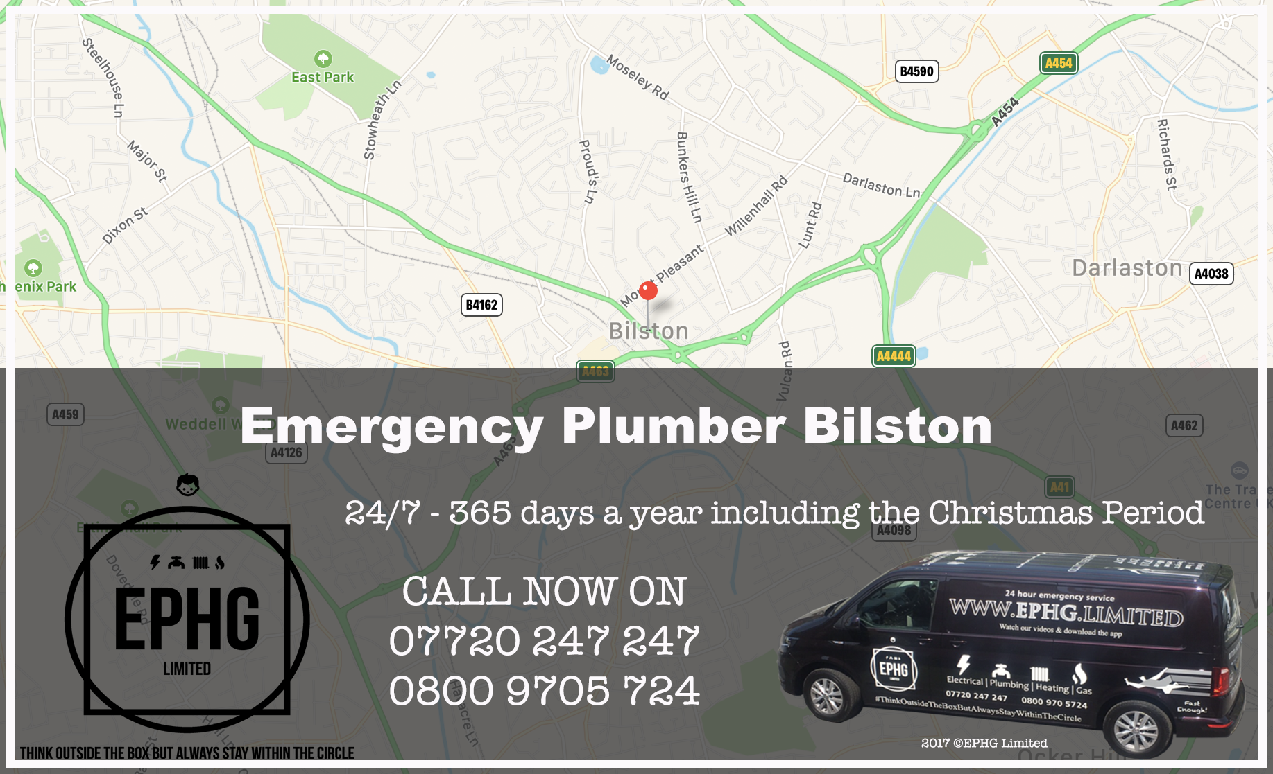 24 Hour Emergency Plumber Bilston