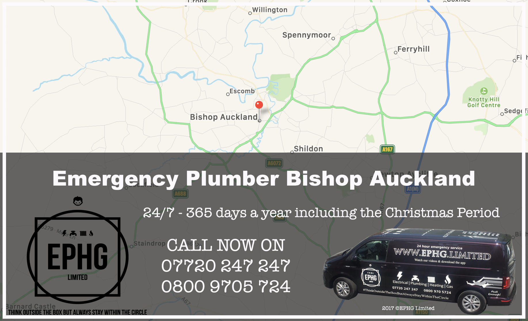24 Hour Emergency Plumber Bishop Auckland