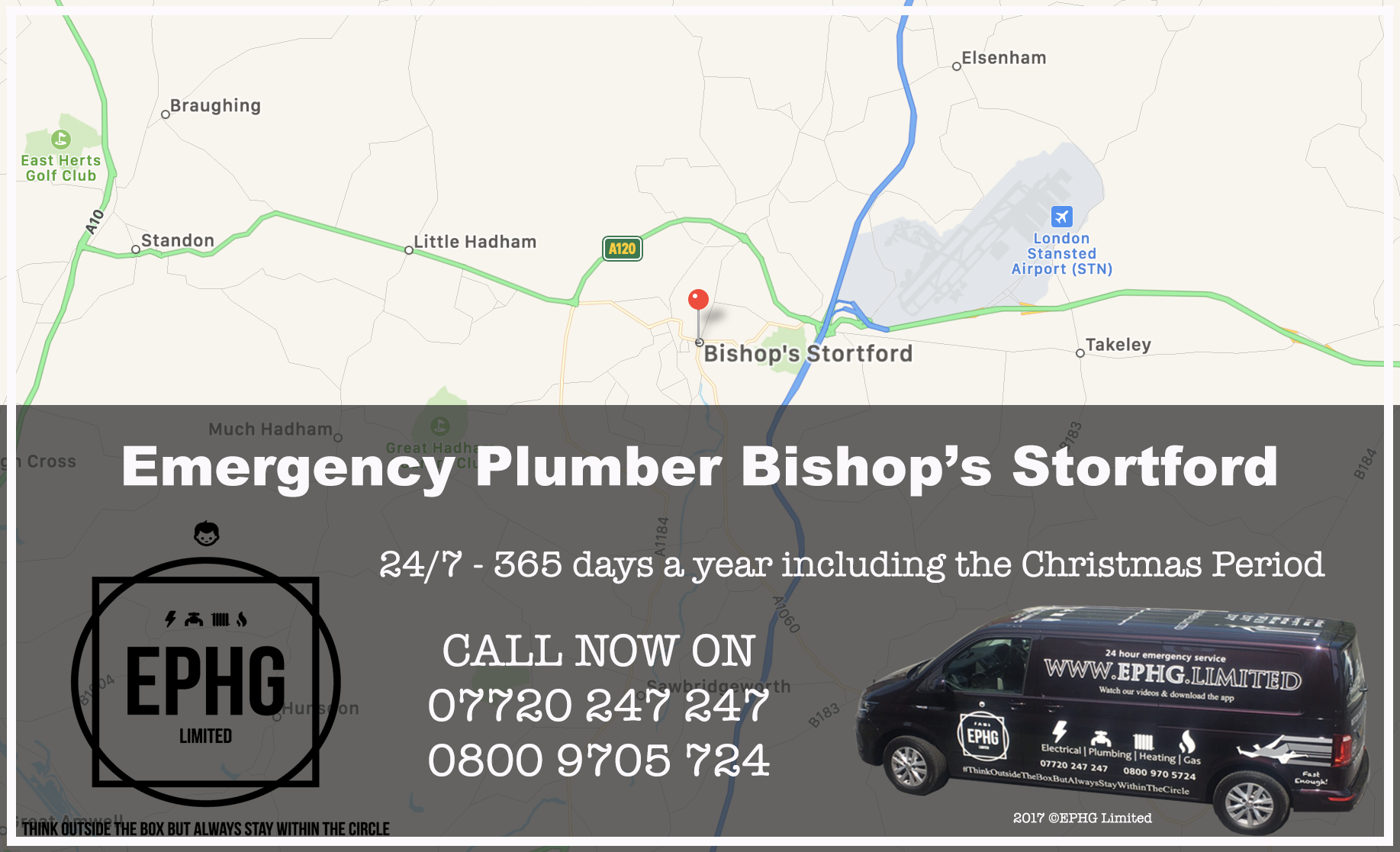 24 Hour Emergency Plumber Bishops Stortford
